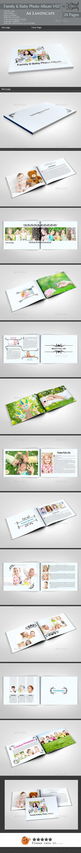 GraphicRiver Family & Baby Photo Album v02 11477148