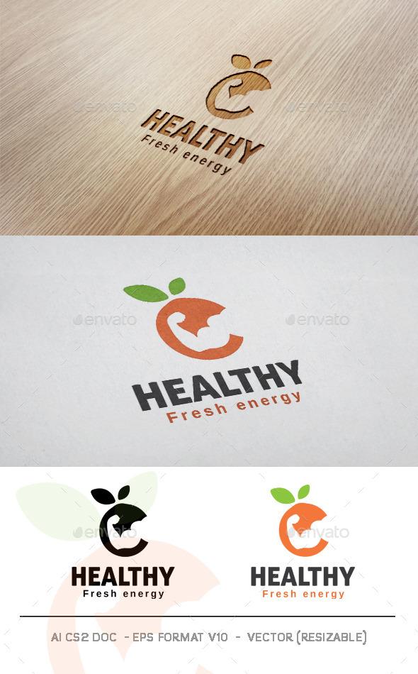 GraphicRiver Healthy Logo 11477282
