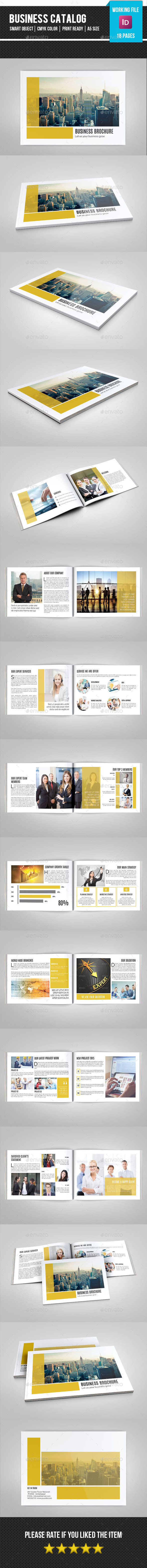 GraphicRiver Business Catalog Brochure-V166 11365801