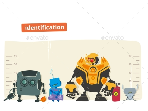 GraphicRiver Robot Identification 11477505
