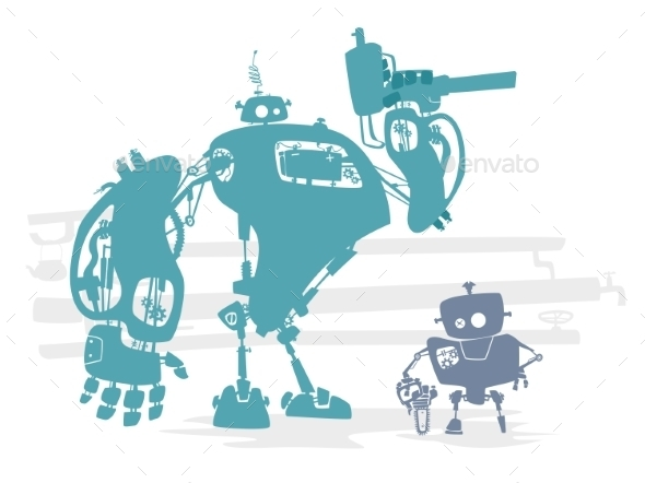 GraphicRiver Robot Identification 11477572