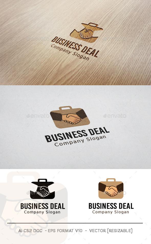 GraphicRiver Business Deal Logo 11477849