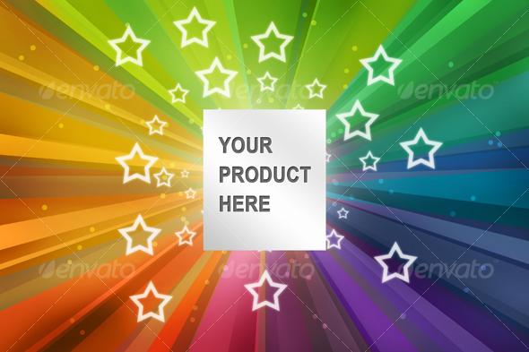 Colored Product Presentation - Miscellaneous Backgrounds