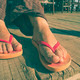 Foot in thongs - PhotoDune Item for Sale