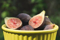 Figs in bowl on wood - PhotoDune Item for Sale