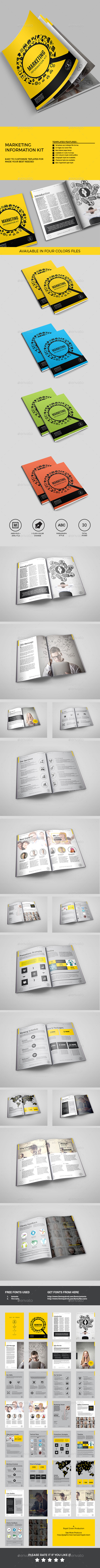 GraphicRiver Internet Marketing Proposal 11478569