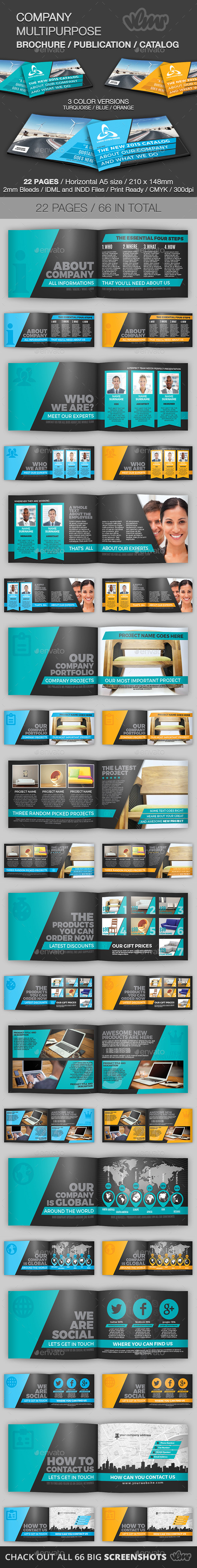 GraphicRiver Company Multipurpose Brochure Template 11478675