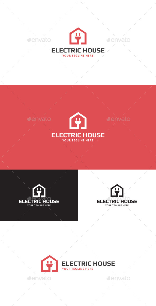 GraphicRiver Electric House Logo 11471903