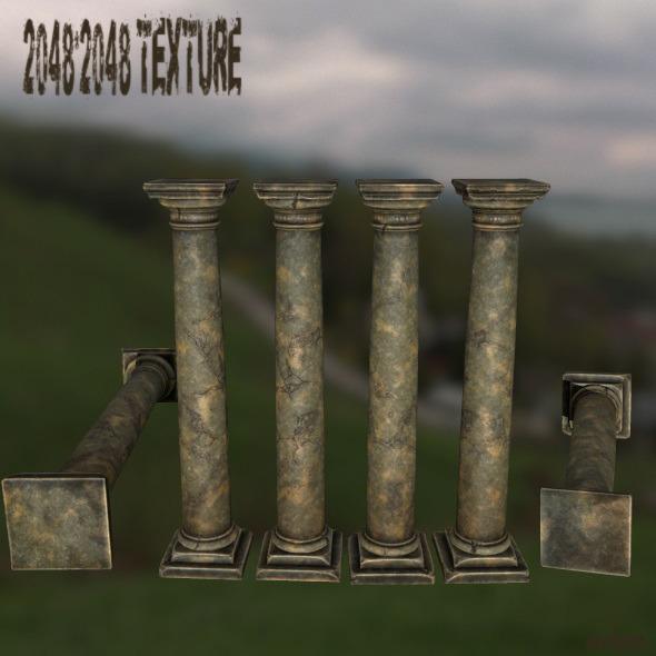 3DOcean Pillar 11478891