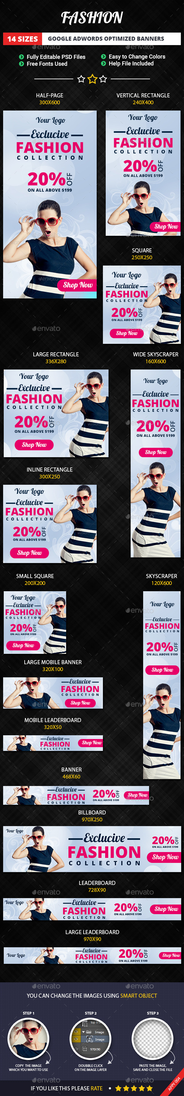 GraphicRiver Fashion Banners 11479083