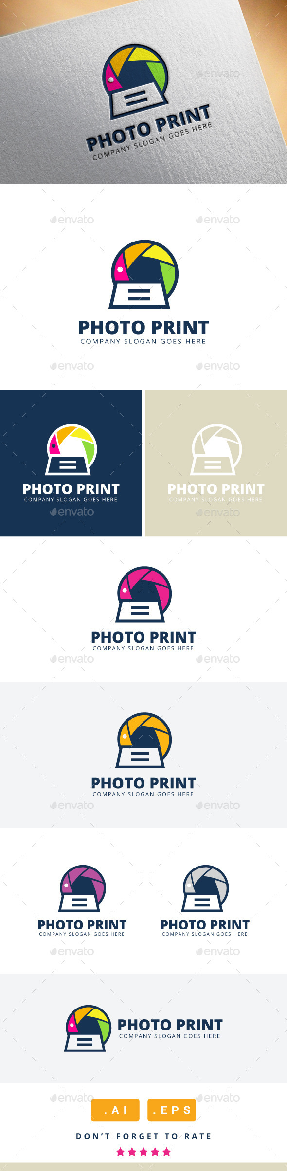 GraphicRiver Photo Print Logo 11479144