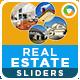 Real Estate Sliders - 5 color variations - GraphicRiver Item for Sale