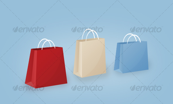 GraphicRiver Shopping Paper Bags 31803