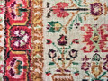 old faded carpet with floral ornament closeup - PhotoDune Item for Sale