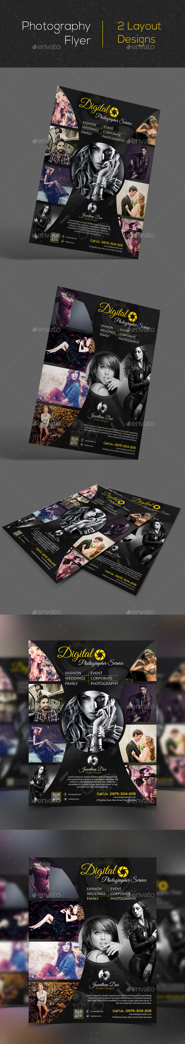 GraphicRiver Photography Flyer 11479979