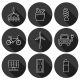 Set Of Hand Drawn Icons On Renewable Energy Theme - GraphicRiver Item for Sale