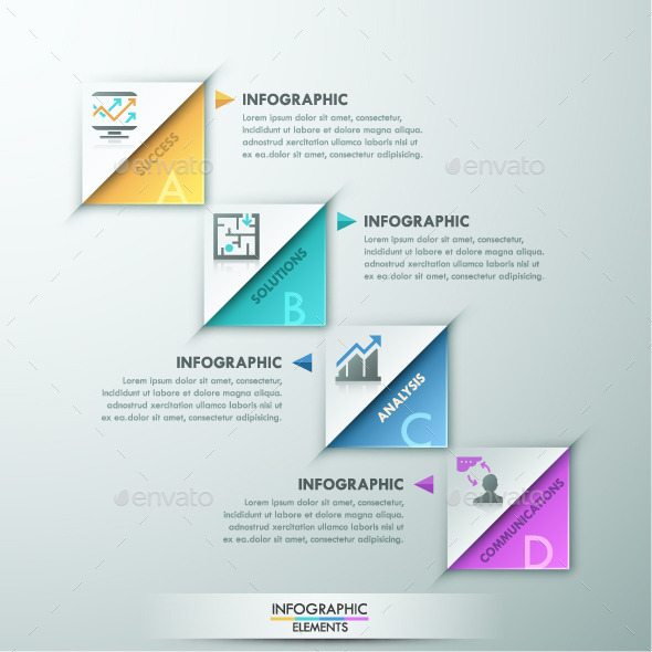 GraphicRiver Modern Infographic Paper Template 11480643