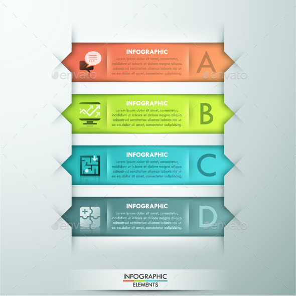 GraphicRiver Modern Infographic Paper Template 11480689