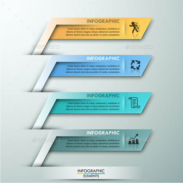 GraphicRiver Modern Infographic Paper Template 11480703
