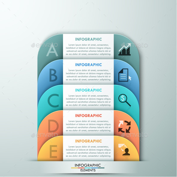 GraphicRiver Modern Infographic Paper Template 11480707