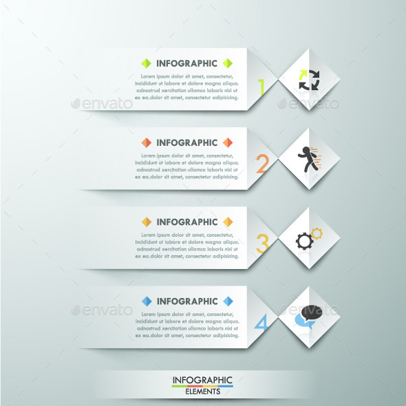 GraphicRiver Modern Infographic Paper Template 11480713
