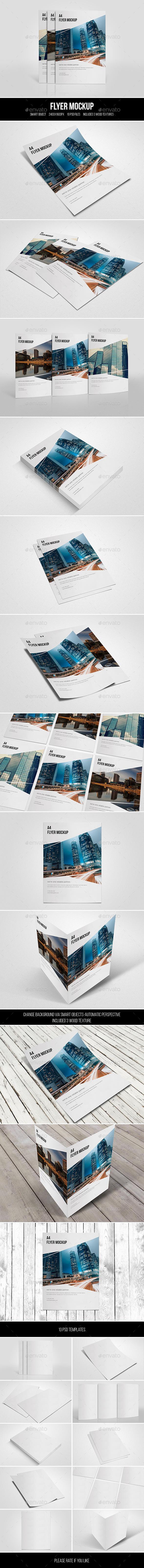 GraphicRiver Flyer Mockup 11480865