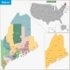 Maine Map - GraphicRiver Item for Sale