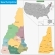 New Hampshire Map - GraphicRiver Item for Sale