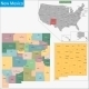 New Mexico Map - GraphicRiver Item for Sale