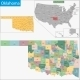 Oklahoma Map - GraphicRiver Item for Sale