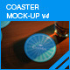 Coaster Mock-up 4 - GraphicRiver Item for Sale