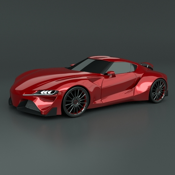3DOcean Toyota FT1 racing car restyled 11481297