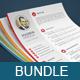 Cv Bundle ( 3 Resume Sets )  - GraphicRiver Item for Sale