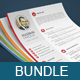Cv Bundle ( 3 Resume Sets )  - GraphicRiver Item for Sale