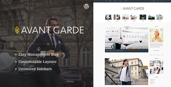 ThemeForest AvantGarde Wordpress Blog Theme 11341608