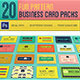 20 Fun Pattern Business Cards - GraphicRiver Item for Sale