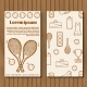 Template For Tennis Booklet, Card Of Flyer With - GraphicRiver Item for Sale