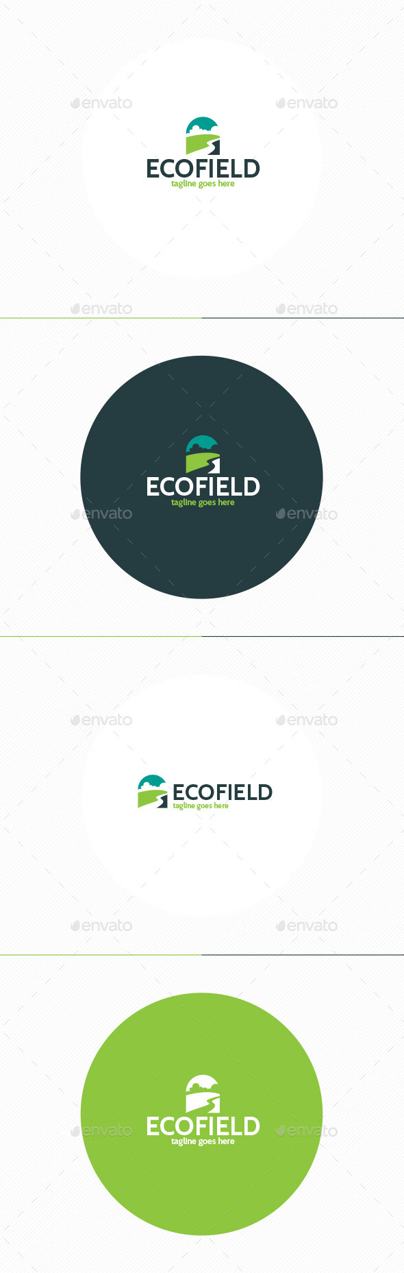 GraphicRiver Eco Field Logo 11481844