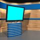 3D-TV_Studio_A_01 - GraphicRiver Item for Sale