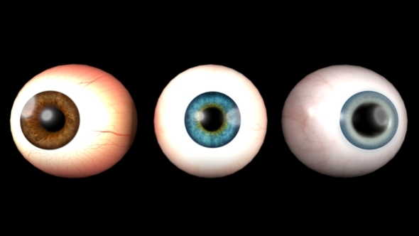 3DOcean 3D Realistic Eyes Collection 11482120