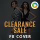 Clearance Sale Facebook Cover - GraphicRiver Item for Sale