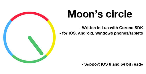CodeCanyon Moon s Circle Game Template for Corona SDK 11482204