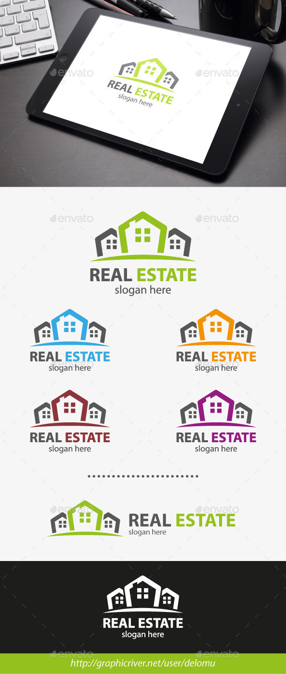 GraphicRiver Real Estate Logo 11457834