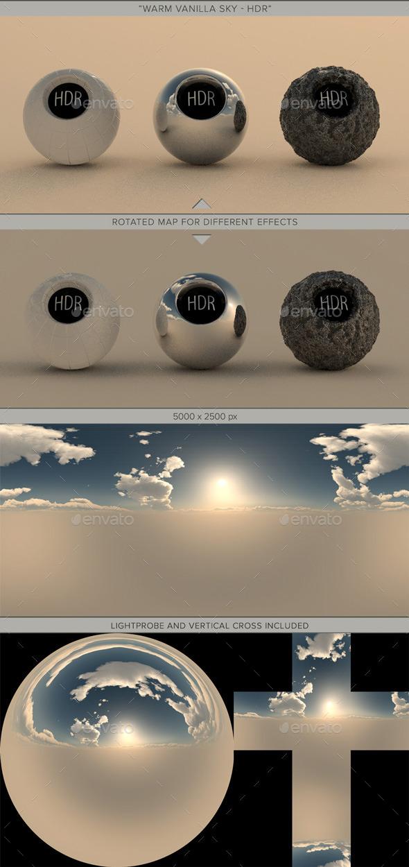 Warm Vanilla Sky - 3DOcean Item for Sale