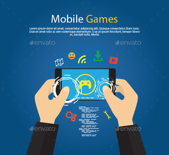 GraphicRiver Mobile Games 11484620