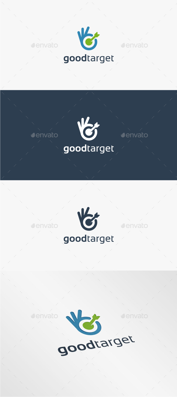 GraphicRiver Good Target Logo Template 11484633