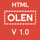 OLEN - Multipurpose Responsive Corporate HTML5 Template - ThemeForest Item for Sale