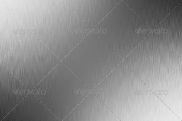 Bright brushed metal texture - Stock Photo - Images