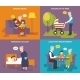 Grandparents Playing with Children - GraphicRiver Item for Sale