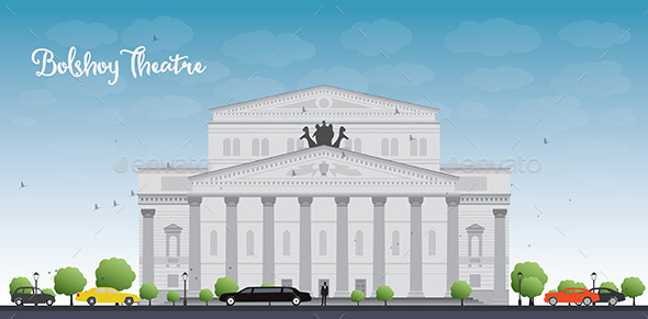 GraphicRiver Bolshoy Theatre in Moscow 11489350